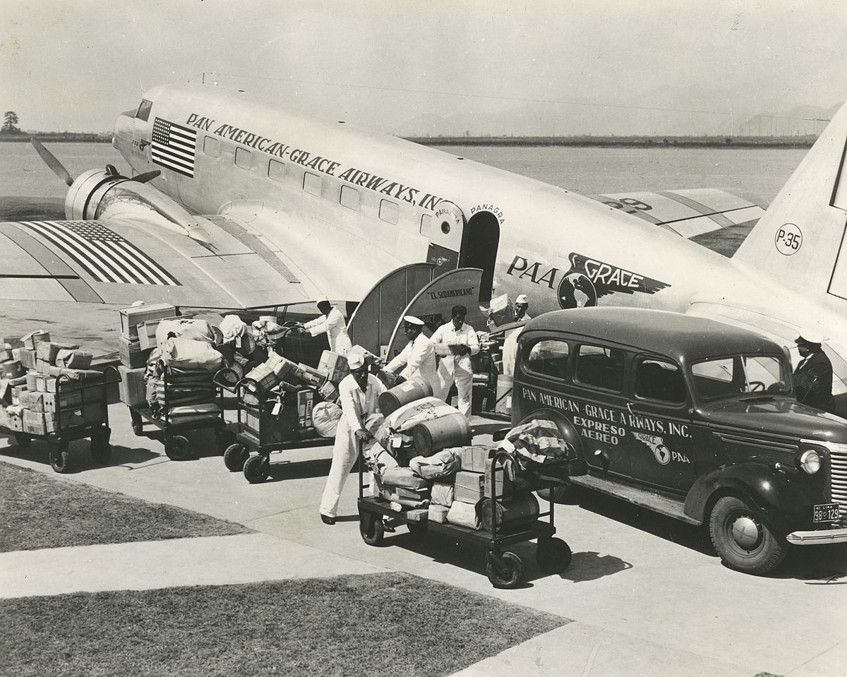 Image result for panagra Pan american, Cargo airlines