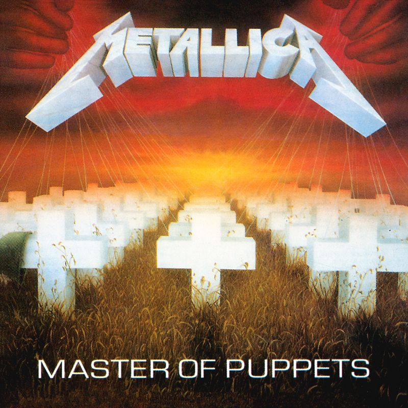 Metallica 1986 Master Of Puppets With Images Master Of