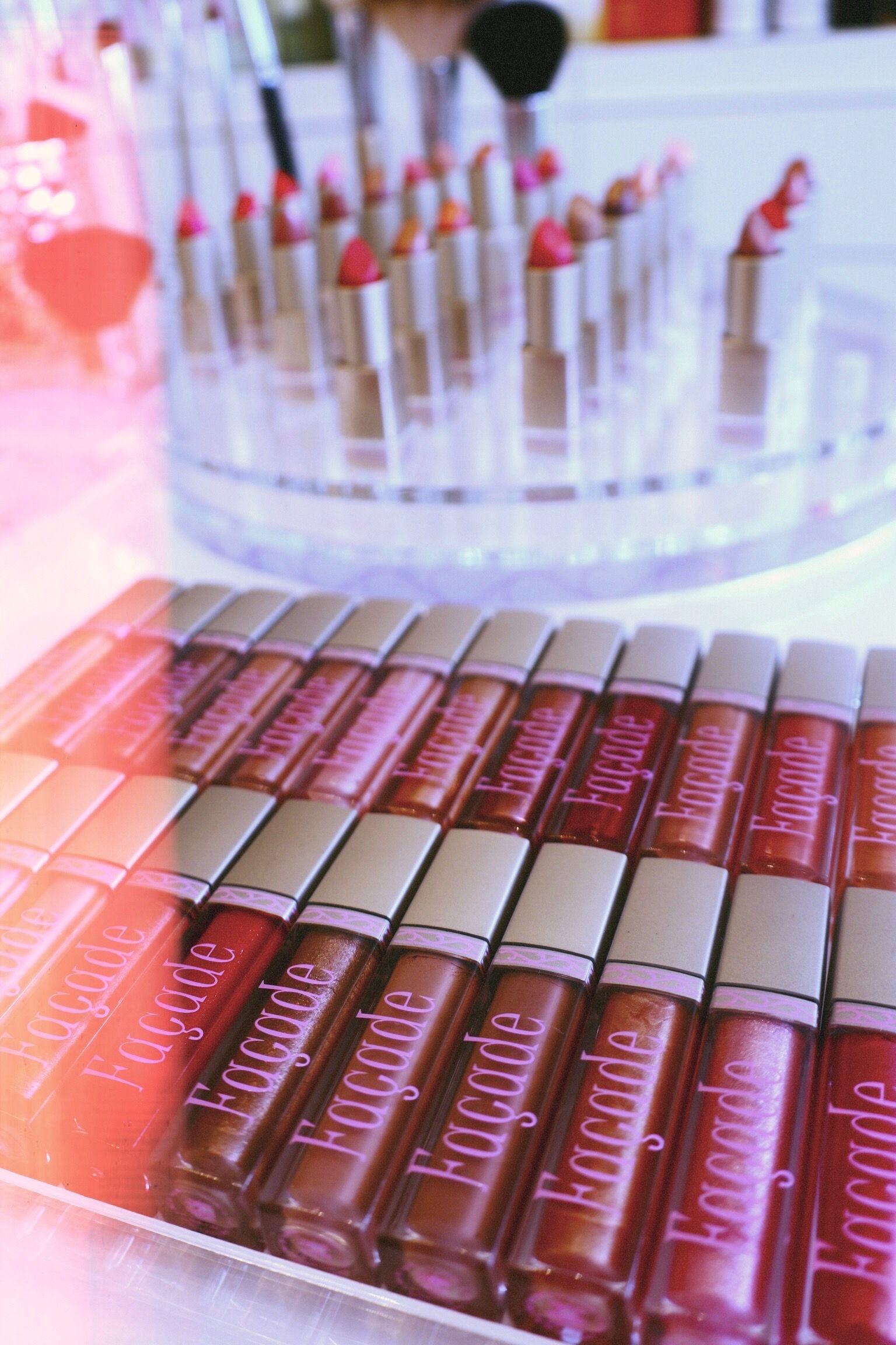 Façade Beauty lipgloss & lipsticks! Makeup inspo, Wet