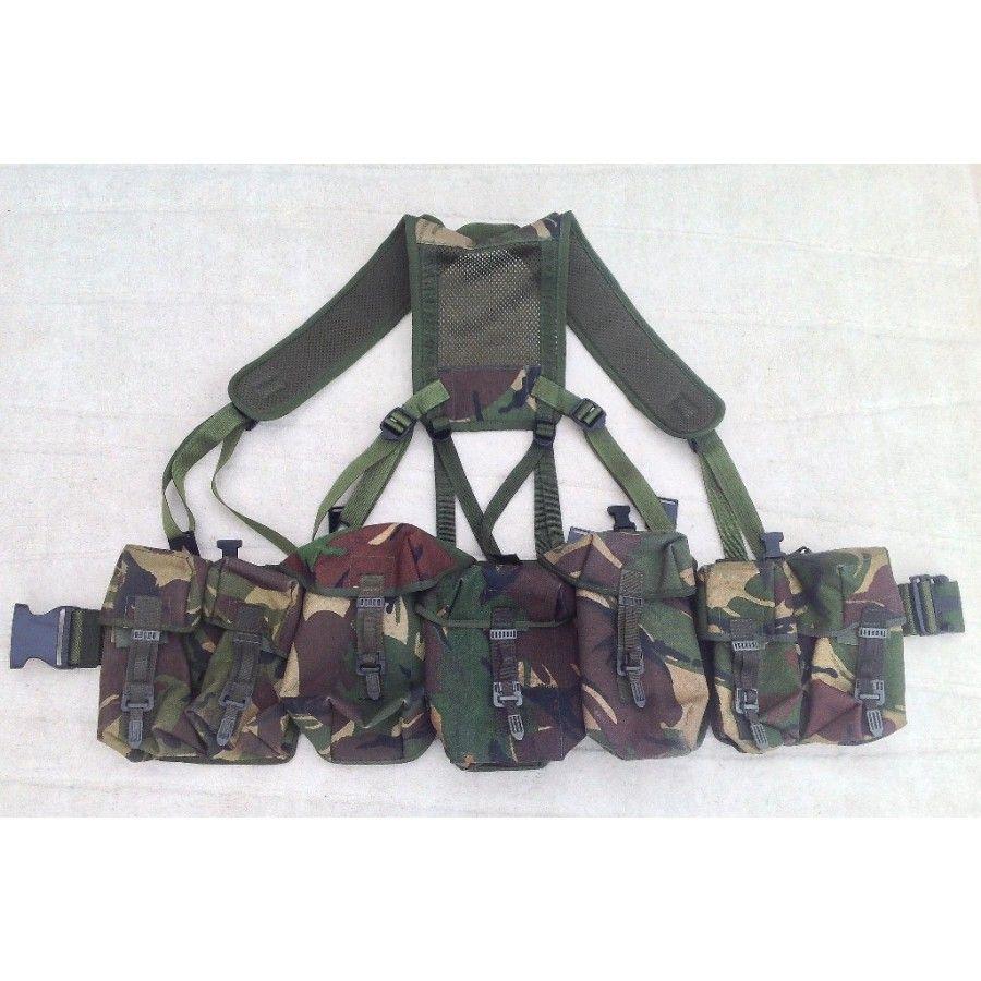 British Army Woodland DPM PLCE Webbing | Firearms & Gear