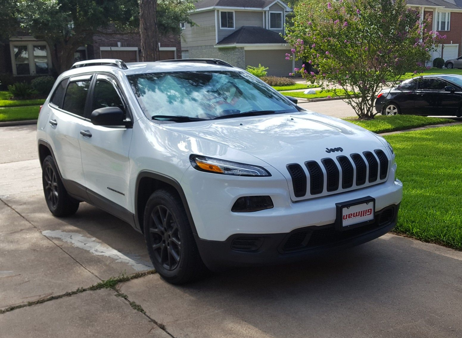 2017 Cherokee Sport Plasti Dip Wheels Grille And Emblems Jeep Cherokee Limited Jeep Cherokee Cherokee Sport