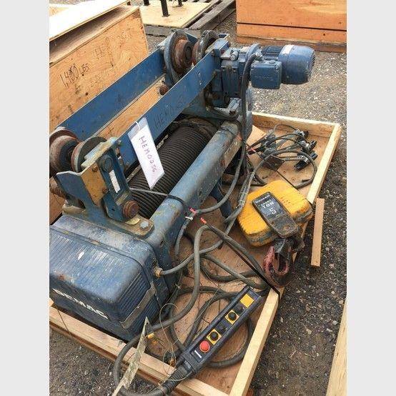 Demag 5 Ton Overhead Hoist Hoist Overhead Vacuums