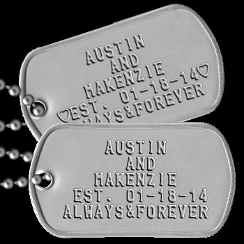 Dog Tag Blank Dog Tags Military Dog Tags Custom Dog Tags