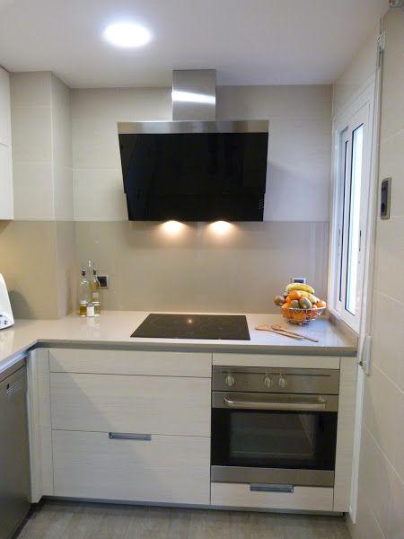 La reforma de una cocina pequeña Cocina pequeña, Nuestra cocina y - cocinas en l