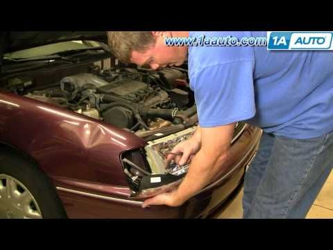 How To Remove Rear Door Panel On 1997 2001 Toyota Camry Youtube