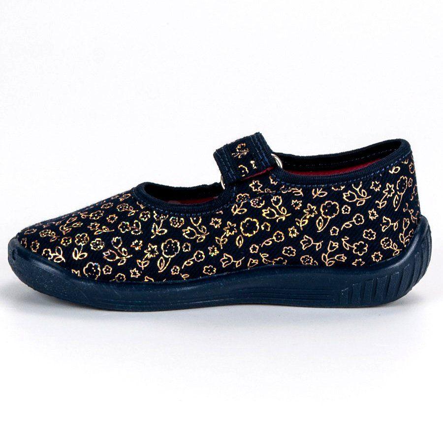 Kapcie Dzieciece Dla Dzieci Raweks Niebieskie Granatowe Kapcie Domowe Raweks Sneakers Shoes Fashion