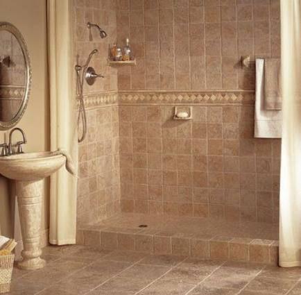 super bathroom ideas brown tile shower walls 57 ideas #