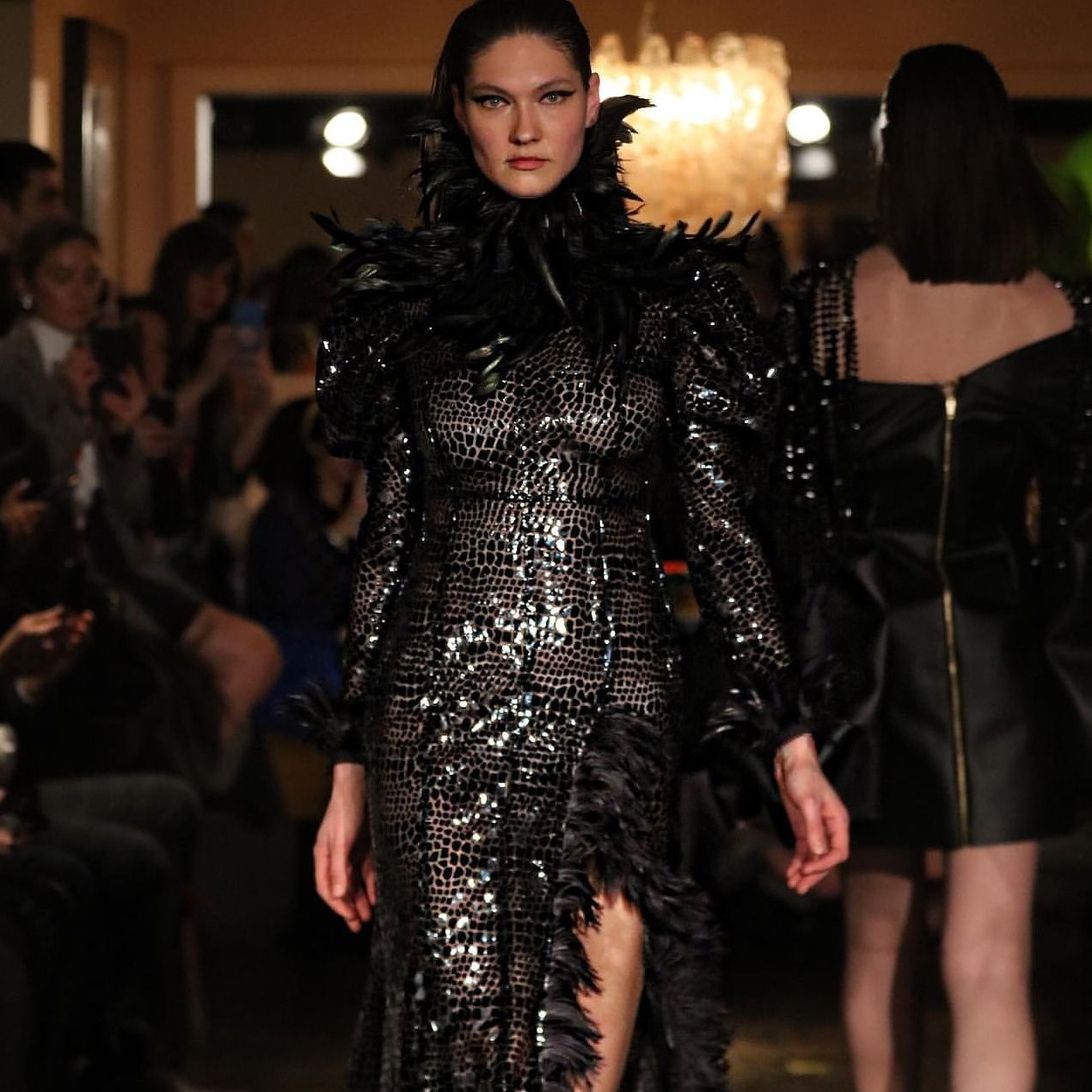 One Of The Inspiring Designers From The Jaded Life Collective Official London Fashion Week Showcase Vaseghia Alisa In 2020 Fashion Fashion Week London Fashion Week