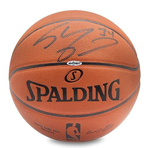 Shaquille O Neal Signed Autographed Replica Indoor Basketball Lakers Shaq  UDA    Read more 3b8a24ad7
