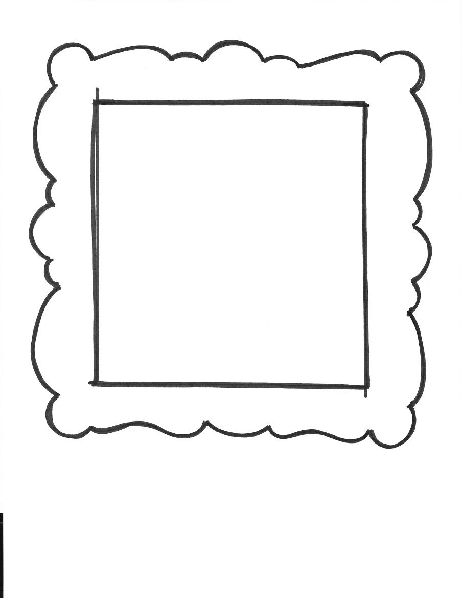 Versatile image regarding printable picture frames