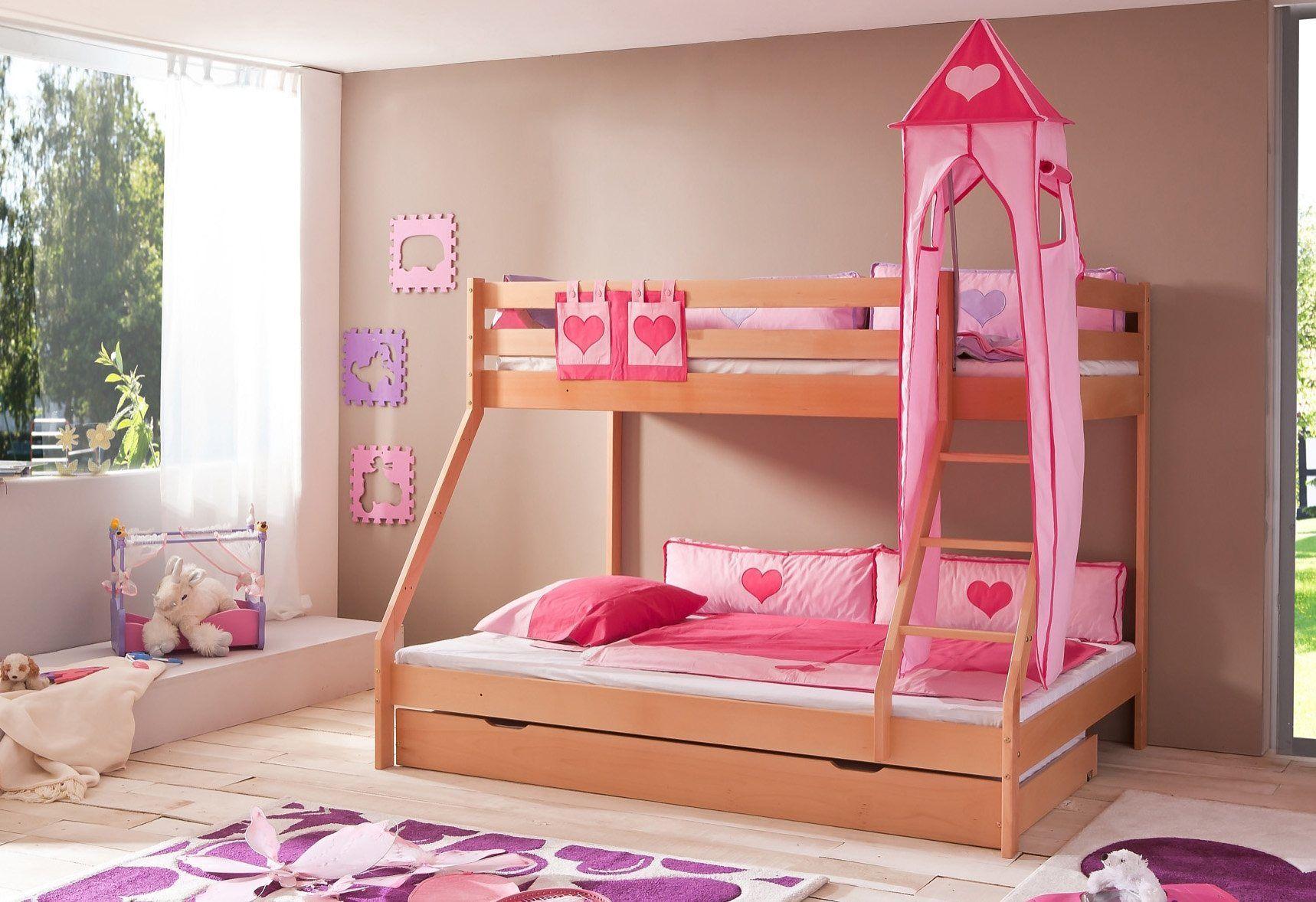 Etagenbett Mit 3 Schlafgelegenheiten : Relita etagenbett set tlg mike« jetzt bestellen unter