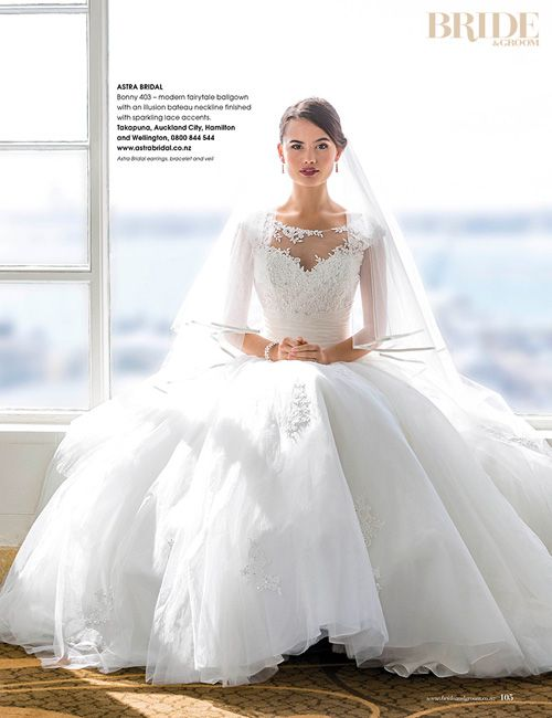 Bonny 403 Featured In Issue 82 Of The Bride And Groom Magazine On Cover Woo Hoo