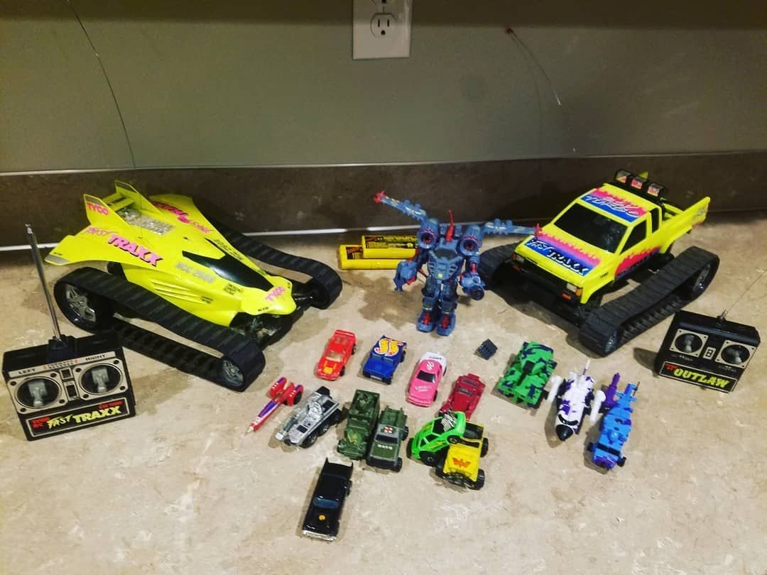 90s car toys  Some good vintagetoys found out with my son today vintage toys