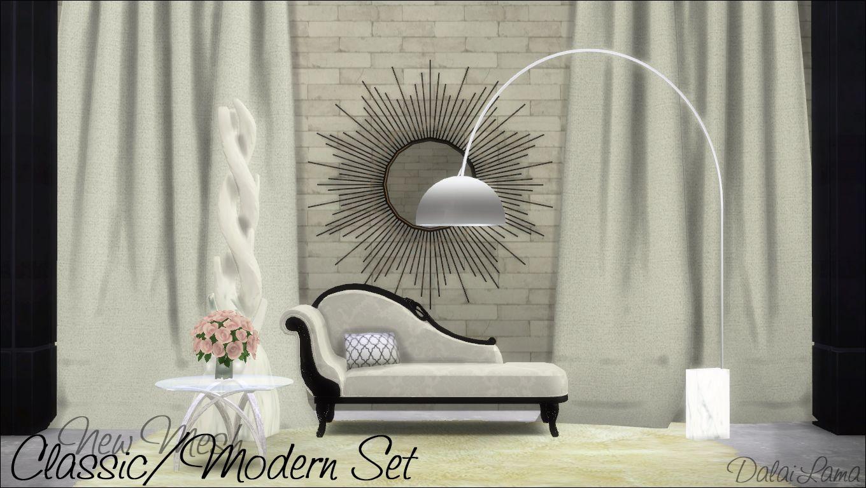 Dalailama classic modern set