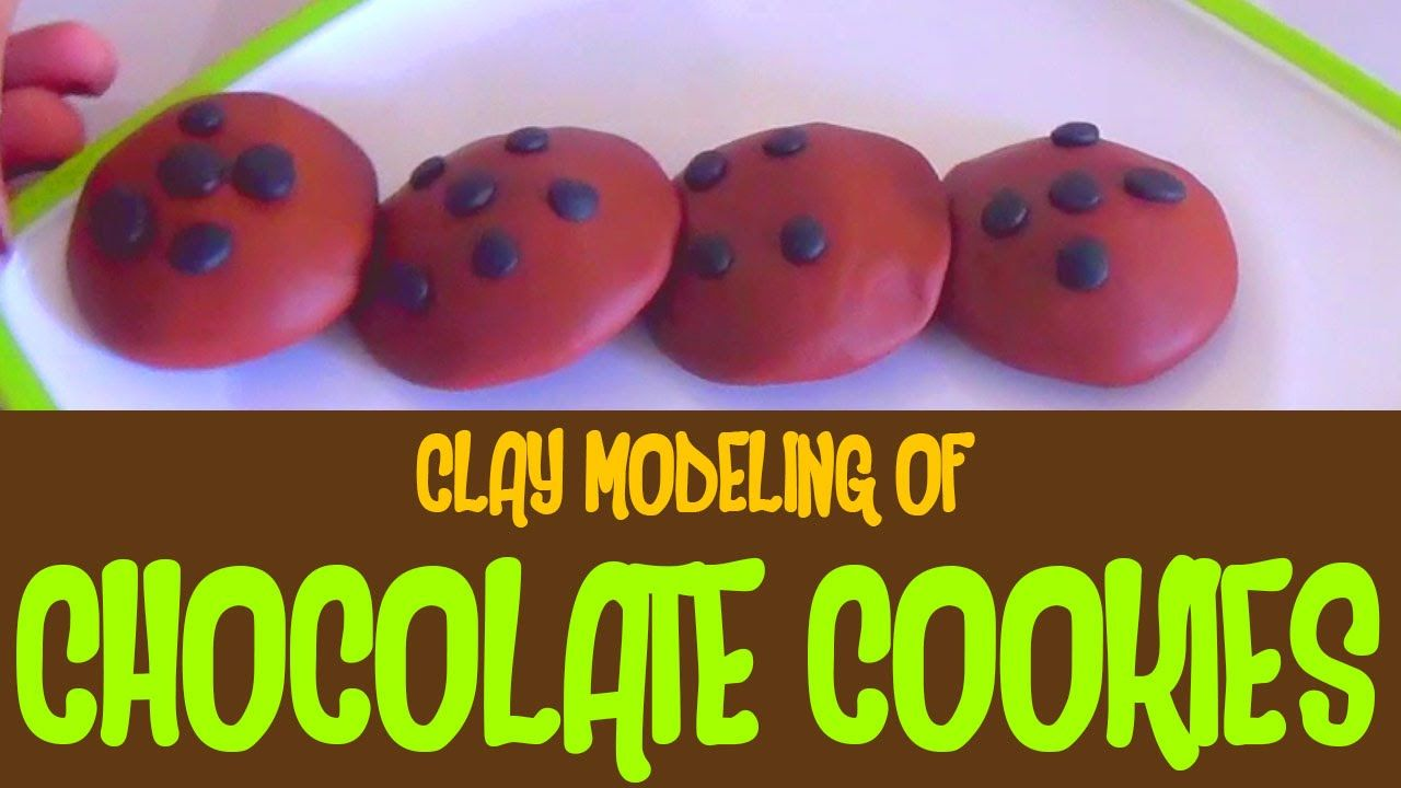 Play Doh Clay Modeling of a Chocolate Cookies | One two three four Cooki...