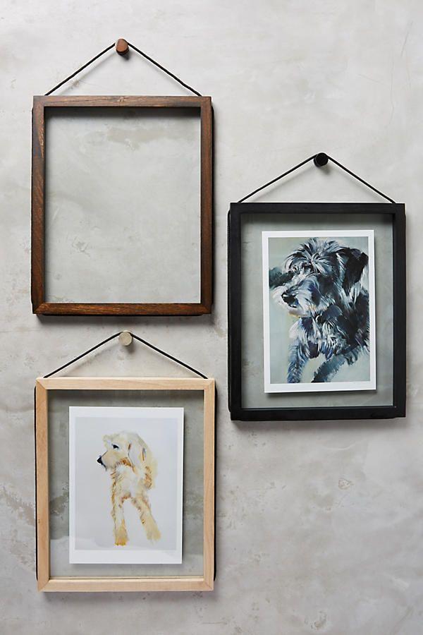Lariat Hanging Frame | DIY Home Decor | Pinterest | Hanging frames ...
