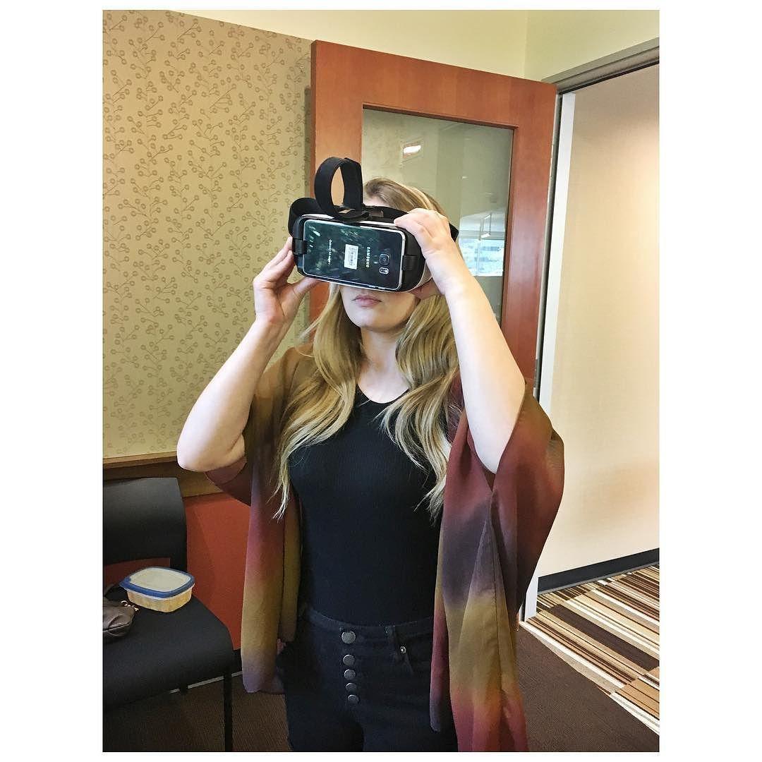 Sometimes my job is cool #samsungVR #virtualreality by hollygram23 - Shop VR at VirtualRealityDen.com
