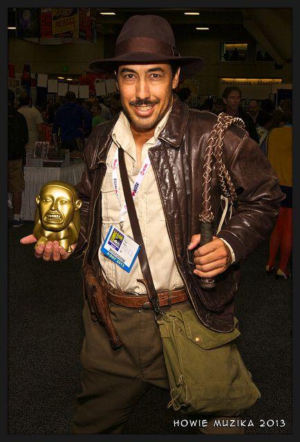 San Diego Comic-Con 2013 - INDIANA JONES Indiana jones, Cosplay - mens halloween costume ideas 2013