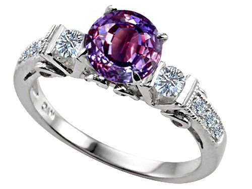 3 stone alexandrite engagement ring heres a very rare color on the market but beautiful - Alexandrite Wedding Ring