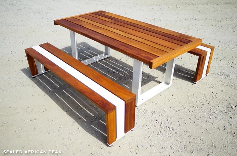 Sr Table Set In 2020 Outdoor Table Settings Table With Bench