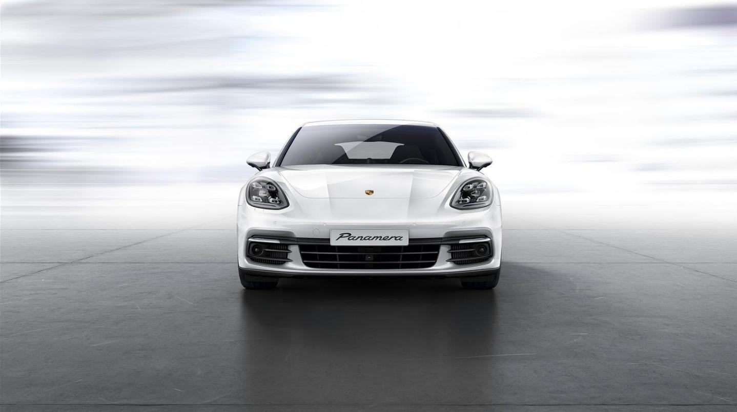 porsche panamera turbo 2018 White Cool Car Design Wallpap… | Review ...
