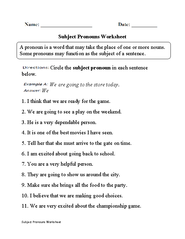 12+ Ordinary pronoun antecedent worksheet information