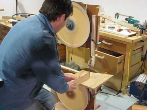 Making Wheels for the Homemade Bandsaw - YouTube