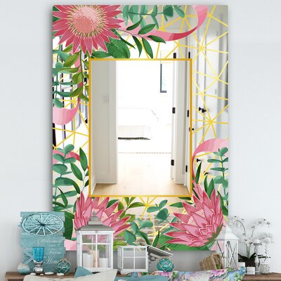 East Urban Home Efflorescent Modern Contemporary Accent Mirror Framed Mirror Wall Cool Mirrors Contemporary Accents