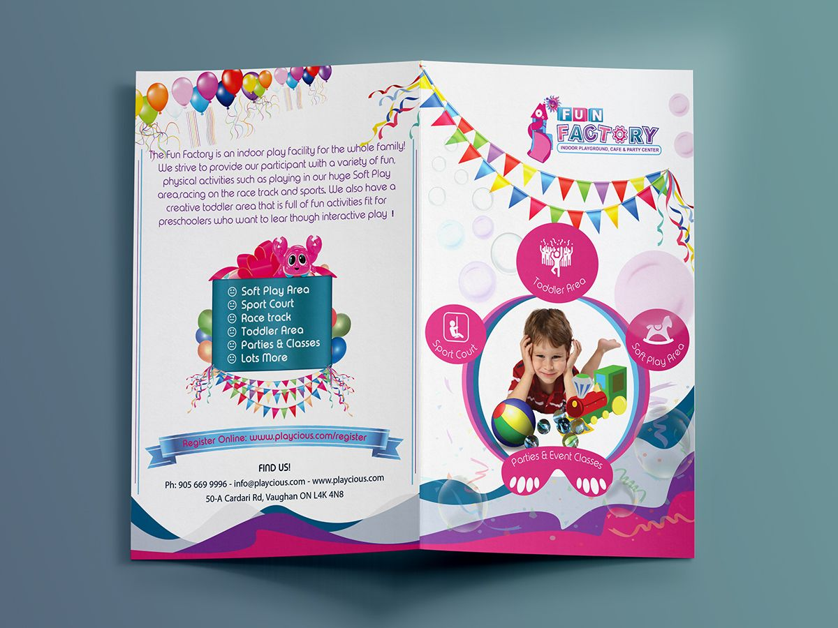 Children Sports Brochure On Behance  Booklet