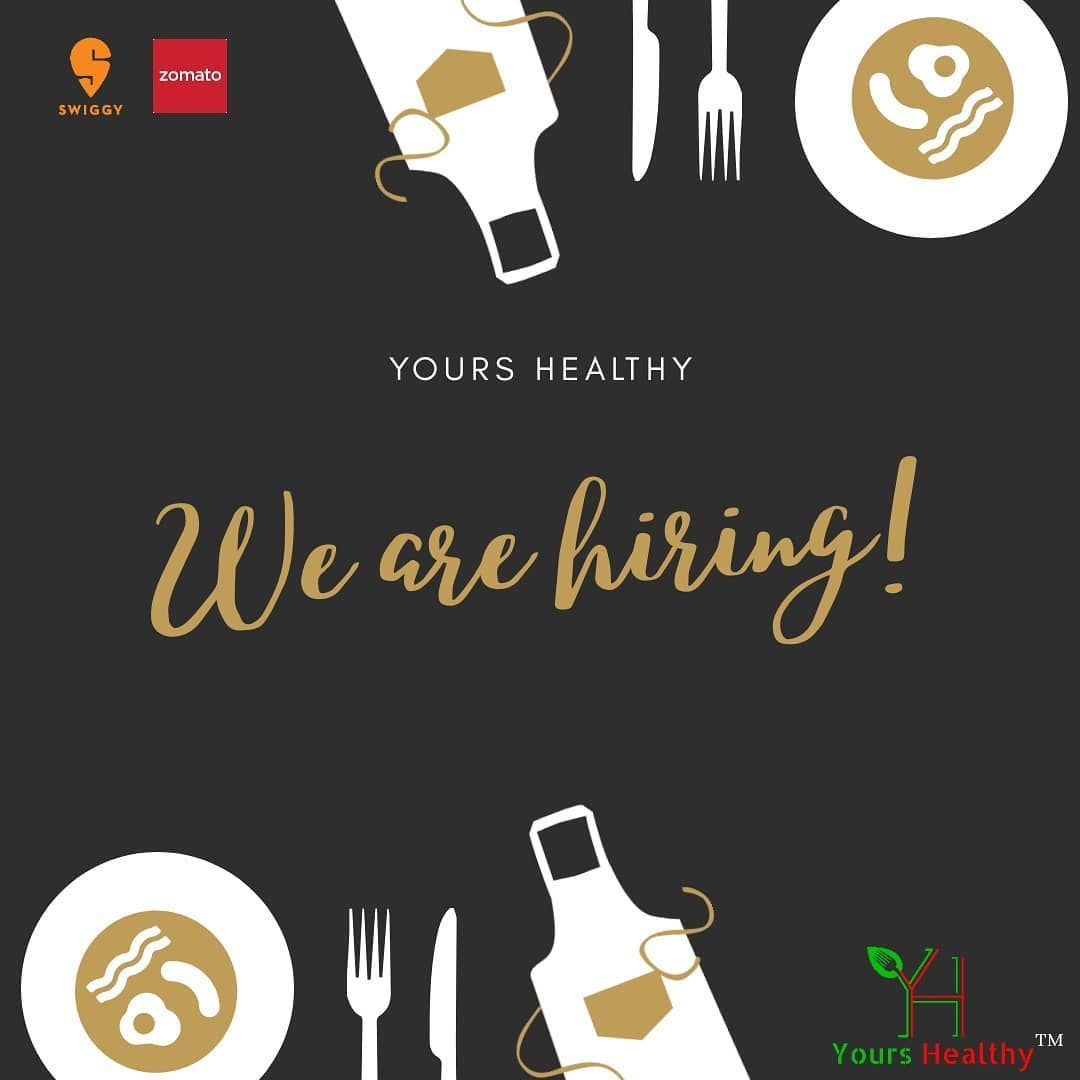 Good news! We are hiring!! If you are a chef or have