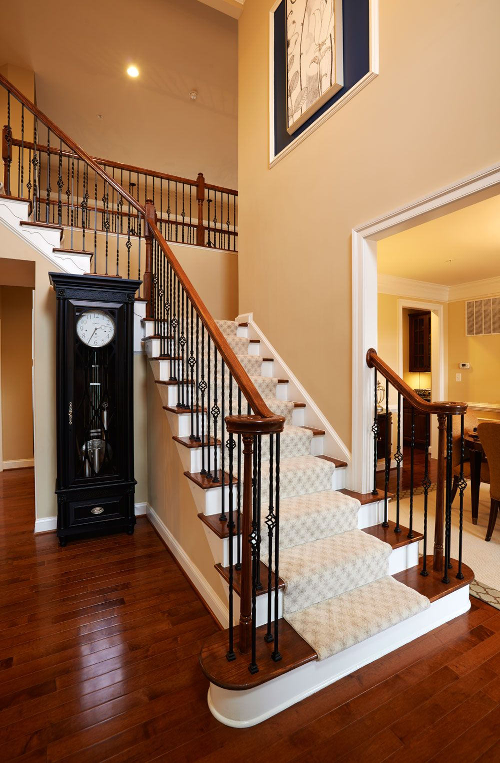 The remington place foyer new house that starts on also heartland homes heartlandhomes pinterest rh