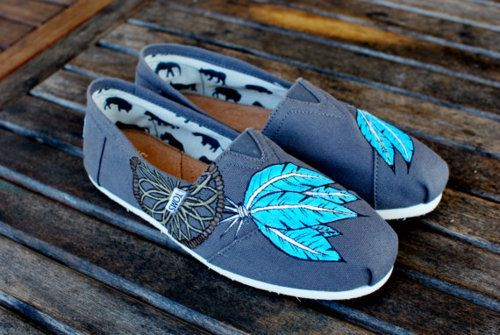 I don't like toms, but these are pretty cute!