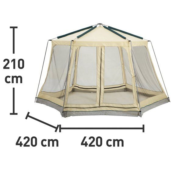 cmi pool pavillon beige 420 cm x 420 cm kaufen bei obi 89 99 dacha pinterest. Black Bedroom Furniture Sets. Home Design Ideas