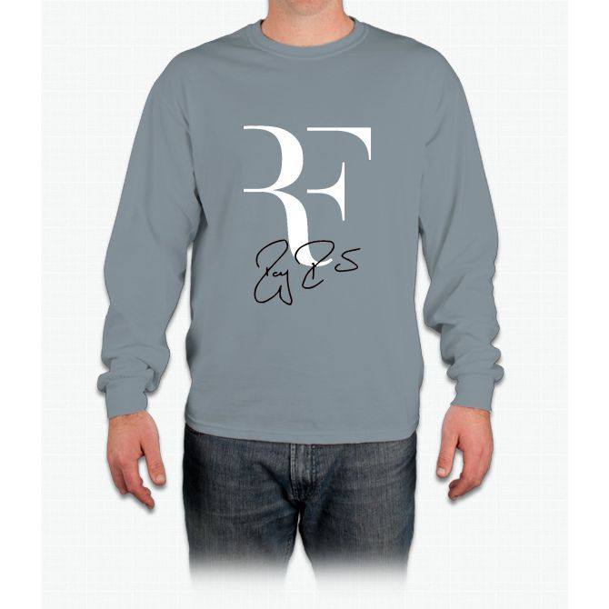 RF Logo Roger Federer Perfect Tennis Long Sleeve T-Shirt