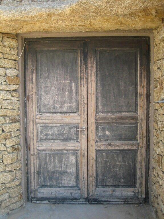 Greek Door Wooden Doors Doors Greek Restaurants