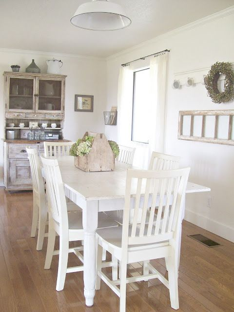 Secret Garden Cottage The Last Few Fall Images Cottage Dining Rooms Rustic Dining Room Farmhouse Dining Room Cottage style dining room pictures