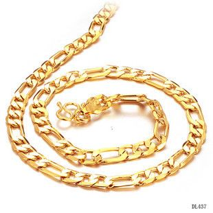Click to Buy Korean jewelry fashion gold necklace boys lanyards
