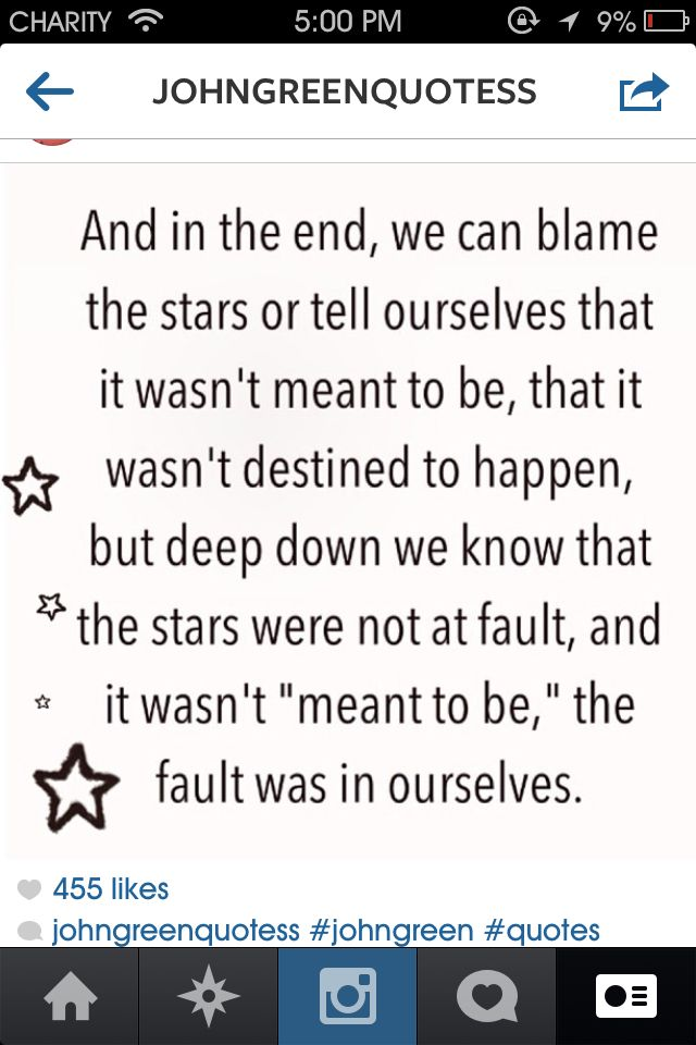 The Fault In Our Stars Wise Quotes The Fault In Our Stars Words