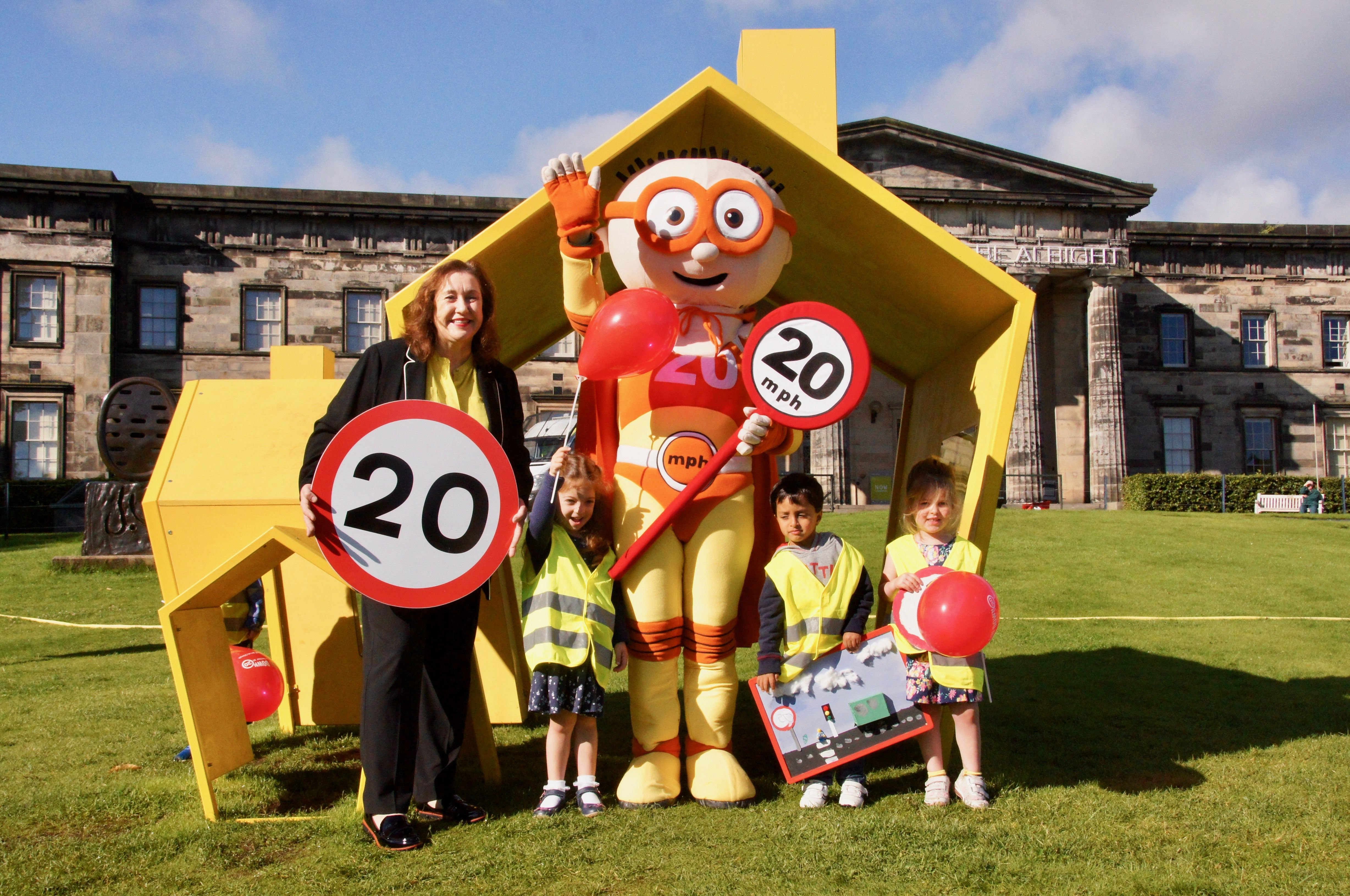 Latest news More 20mph zones in the capital from tomorrow