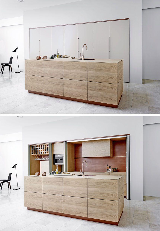 Bo Bedre Multiform Moderne Kokkener Minimalistisk Kokken Minimalistisk Indretning