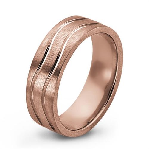 43+ Mens rose gold wedding ring ideas info