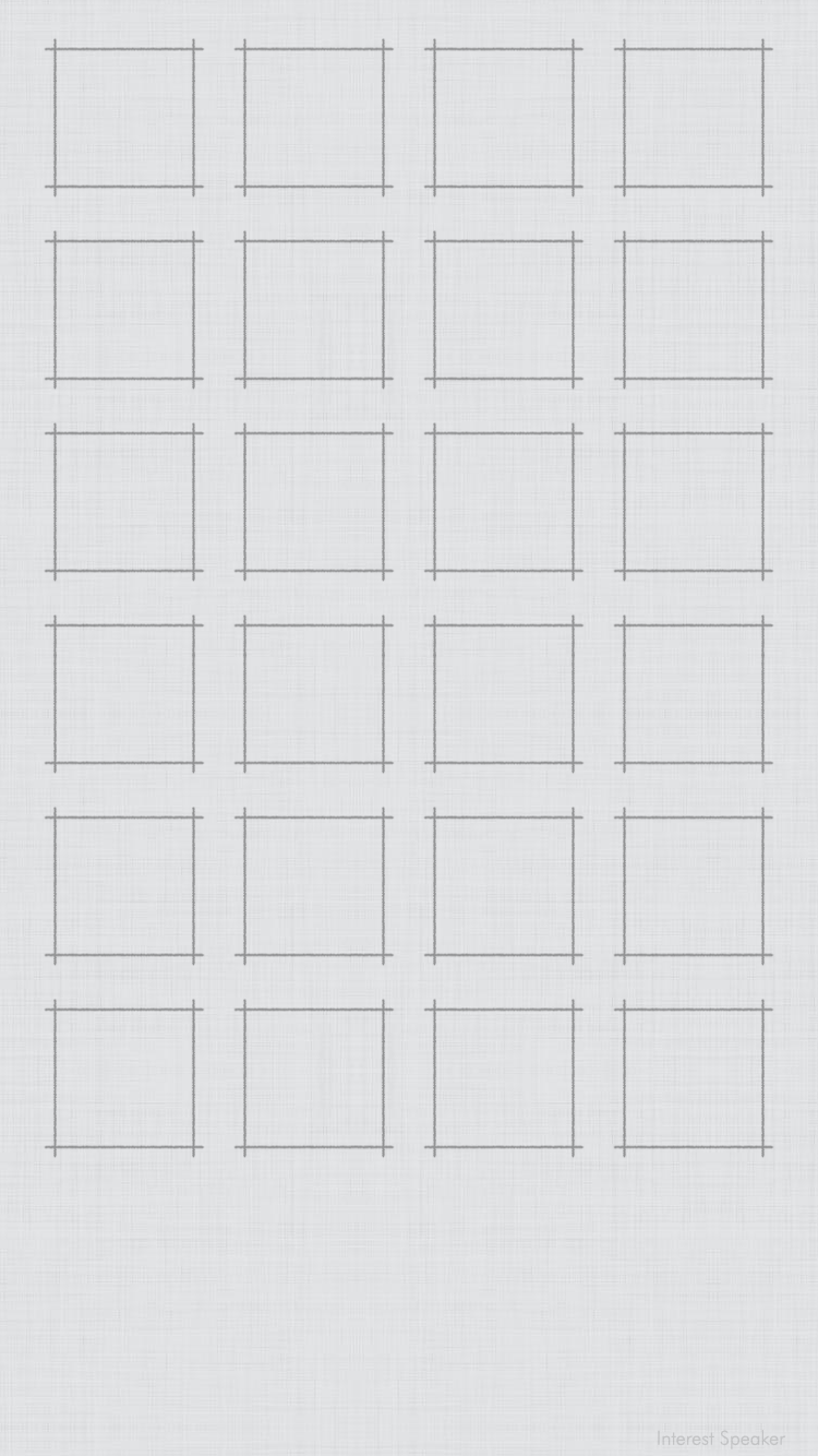 Iphone 6 用壁紙 グリッド 白 2020 ホーム画面 オシャレ 壁紙