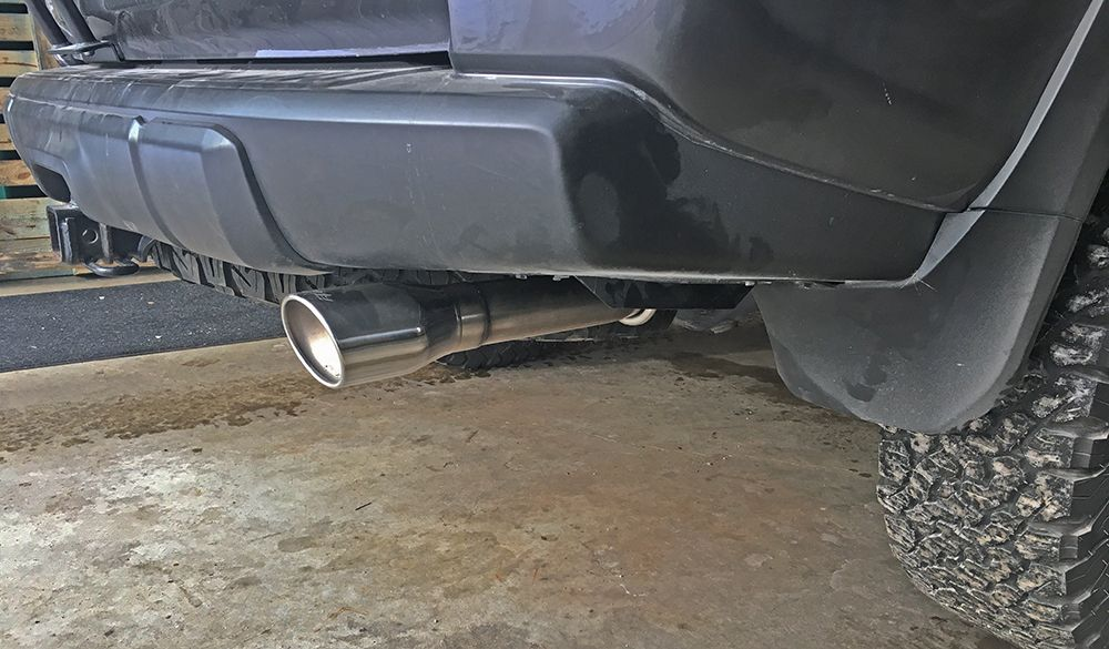 borla cat back exhaust system install