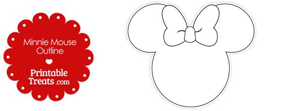 picture regarding Printable Minnie Mouse Head titled Want a printable Minnie Mouse define towards crank out some Disney
