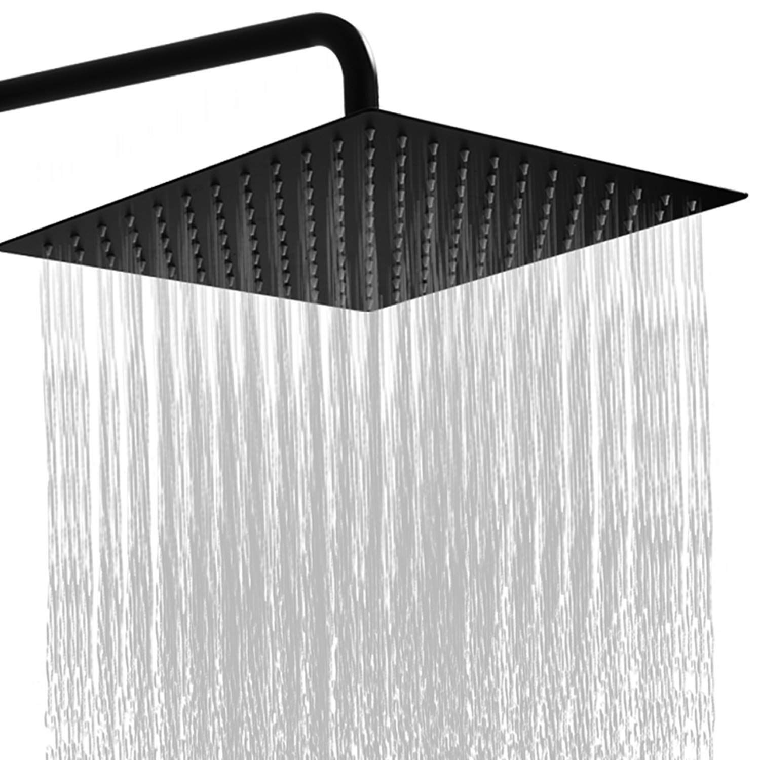 Square Stainless Steel Shower Head Rain Style Shower Head Oil Rubbed Bronze