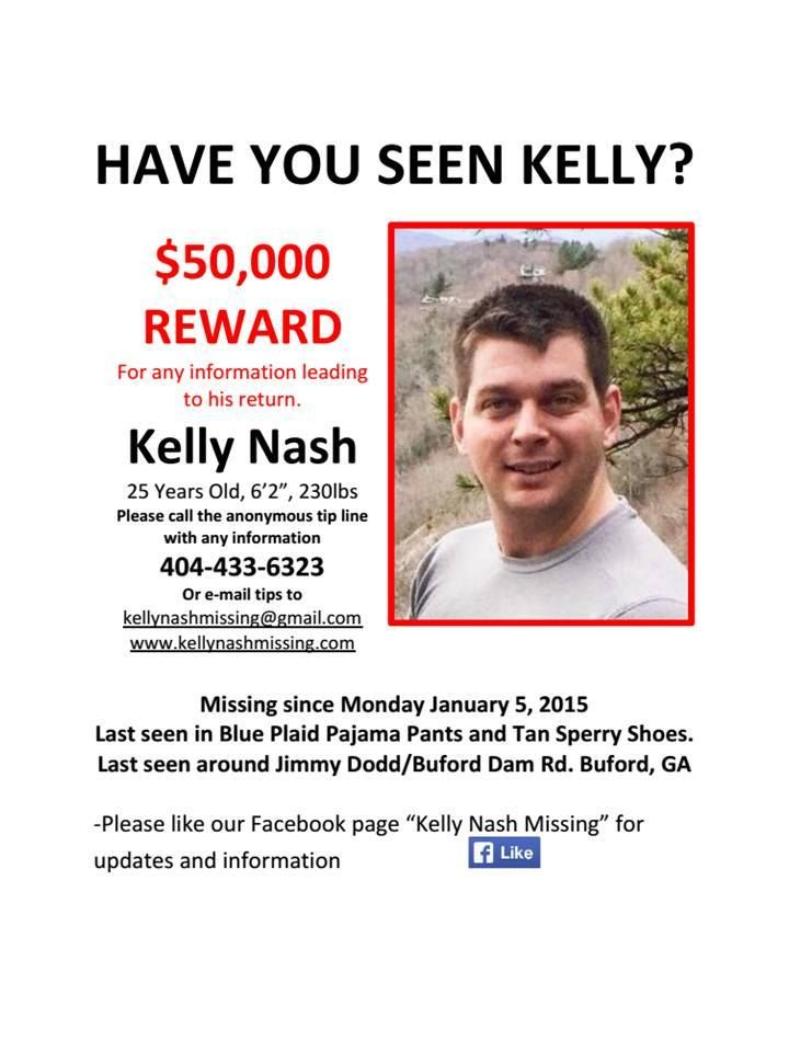 Missing People Posters 2015 | The Missing Person Poster In The Search For  Kelly Nash.  Missing Person Flyer