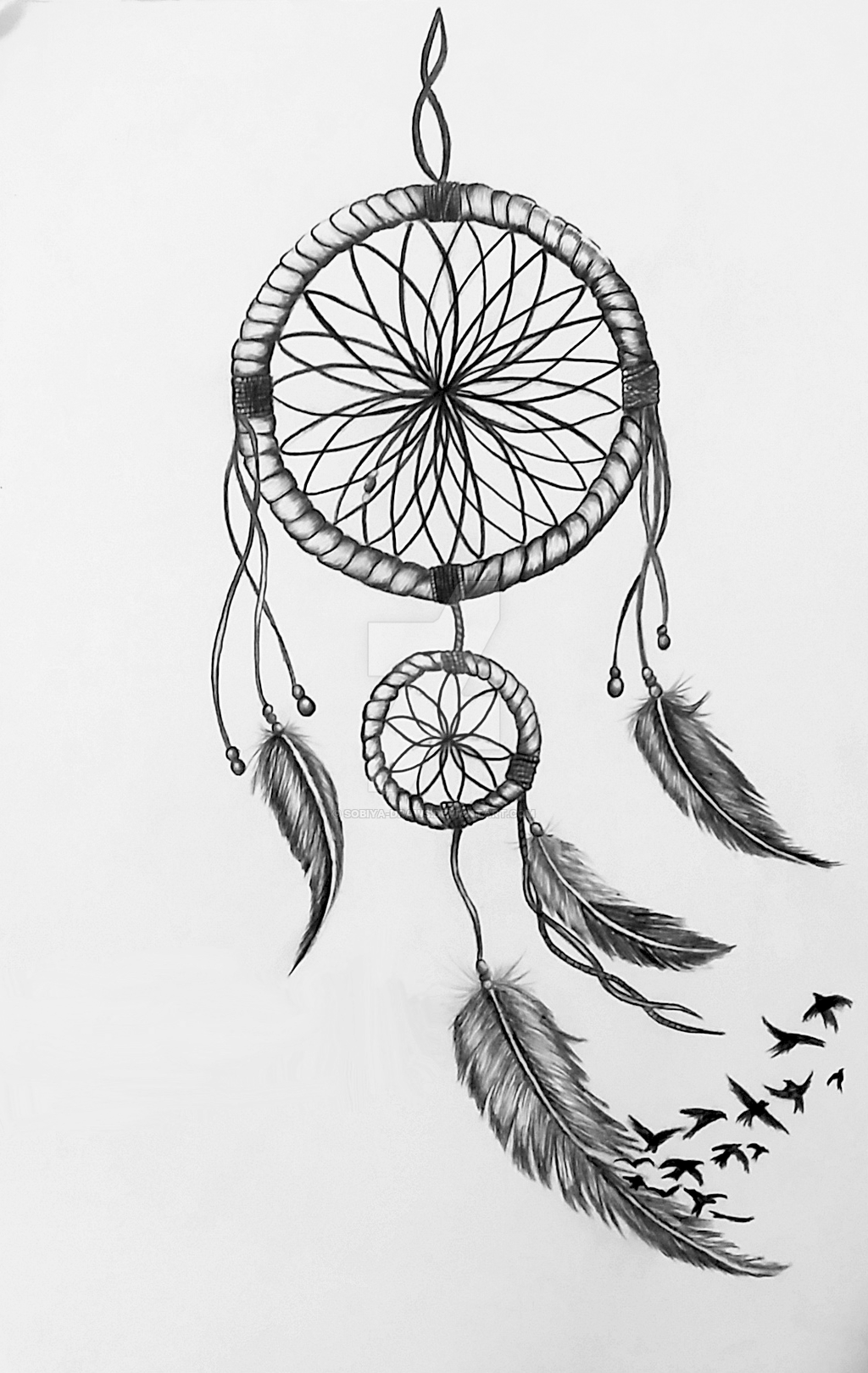dreamcatcher drawing by sobiya draws miscelaneous iv pinterest drawings tattoo and dream. Black Bedroom Furniture Sets. Home Design Ideas