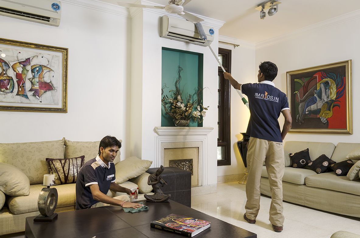 The Maids.in Delhi/NCR based professional residential cleaning company that  offers a full range of deep ho… | House cleaning services, Cleaning  service, Clean house