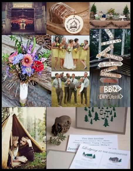 Inspiring Brides Let S Go Camping A Beautiful Collection Of Outdoor Wedding Ideas