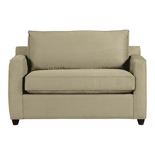Sensational Sleeper Sofa Crate Barrel 849 15 Twin Sleeper 53Wx36 Evergreenethics Interior Chair Design Evergreenethicsorg